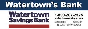 Watertown Savings Ad