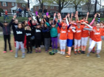 The Crushers and the Panthers U12 girls softball teams played their first game this week.