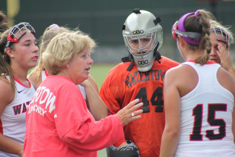 Watertown field hockey coach Eileen Donahue.